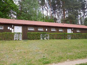 Sanitärhaus Campingplatz